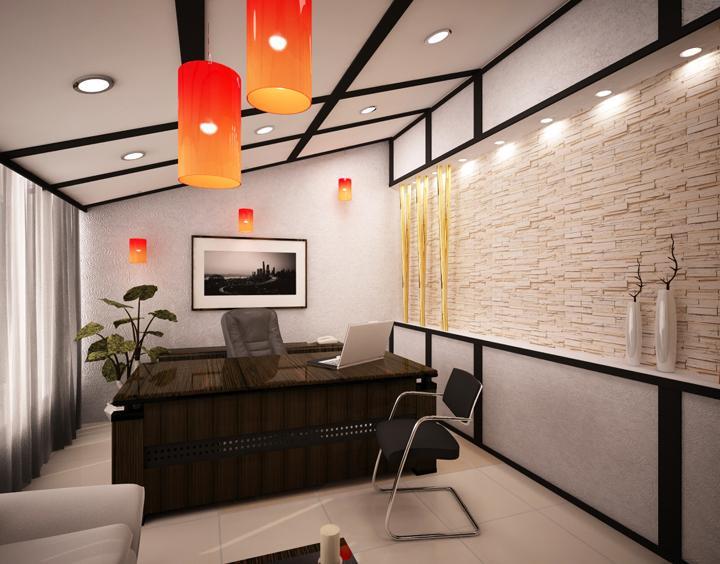 дизайн кабинета руководителя мужчины фото