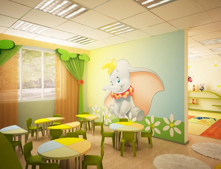 Дизайн детского помещения