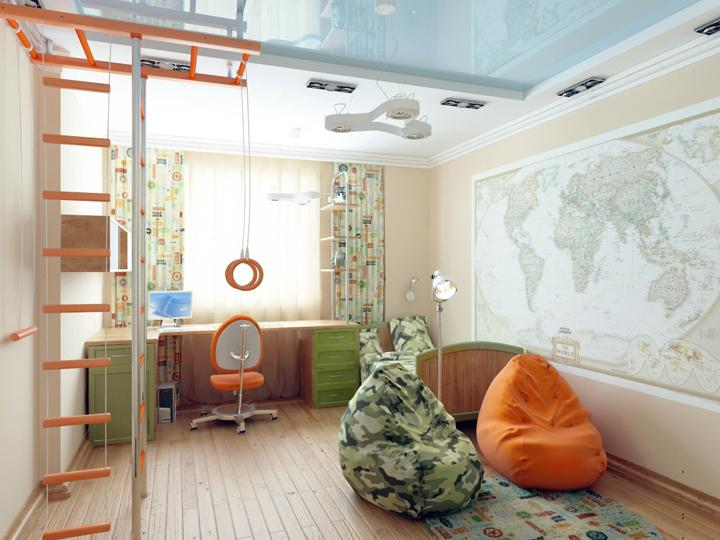 Дизайн интерьера квартиры 60 кв.м пер