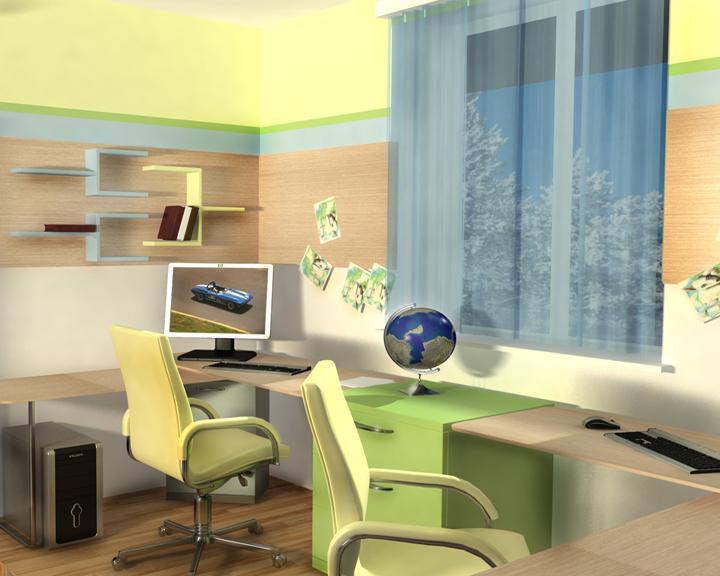 Фото дизайн детской комнаты 13 кв.м фото