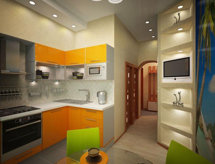 Кухни 5.6 кв дизайн