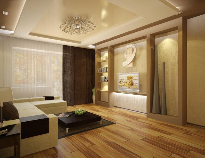 Проекты и дизайн комнаты зала
