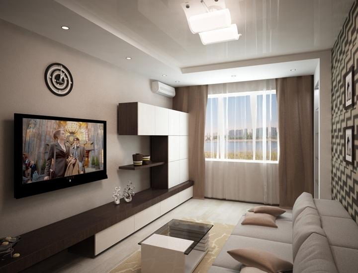 Дизайн 15 метровой комнаты фото