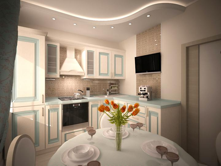 Кухня 7.8 кв.м дизайн
