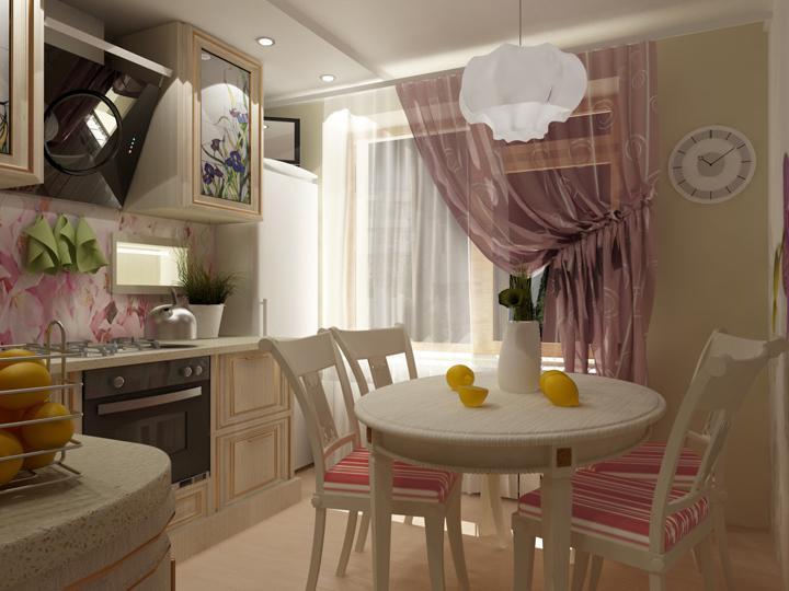 Дизайн квартиры 68 кв. м