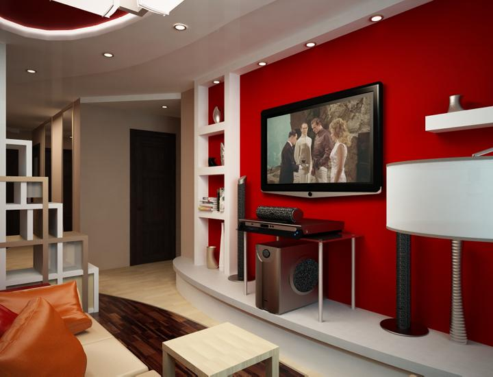 Дизайн 2 комнатной квартиры 56 кв.м