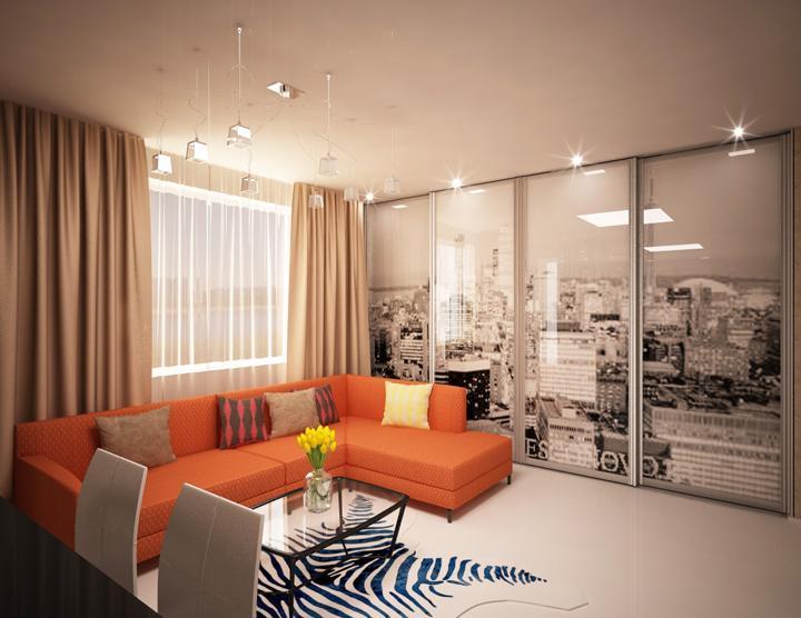 Квартира 55 кв.м дизайн фото