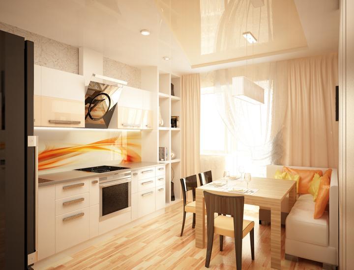 Дизайн интерьера квартиры 81 кв.м. ул. шеронова, 8 жилой ....