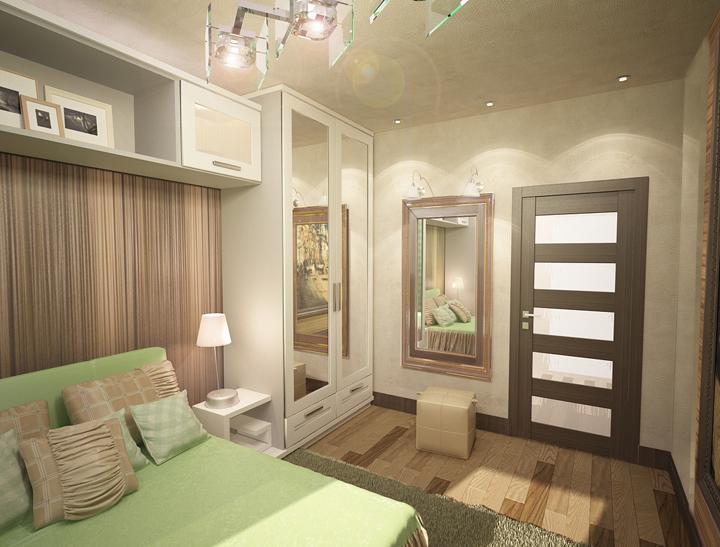 Дизайн комнаты 14 м