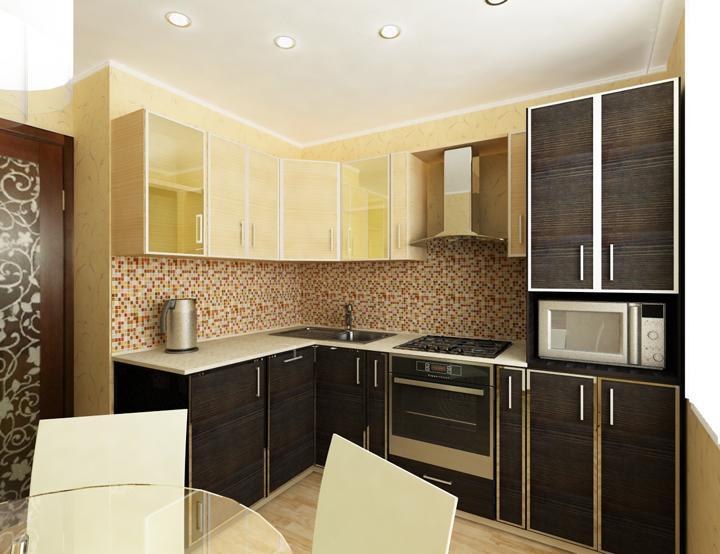 Ремонт кухни фото 9 кв метров своими руками