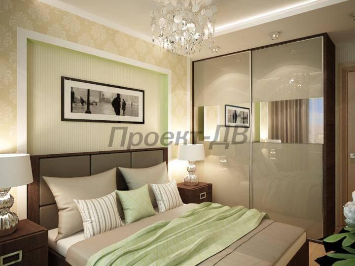 Спальня 24 кв м дизайн