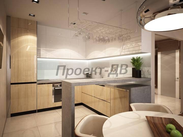 Дизайн квартиры 66 кв м