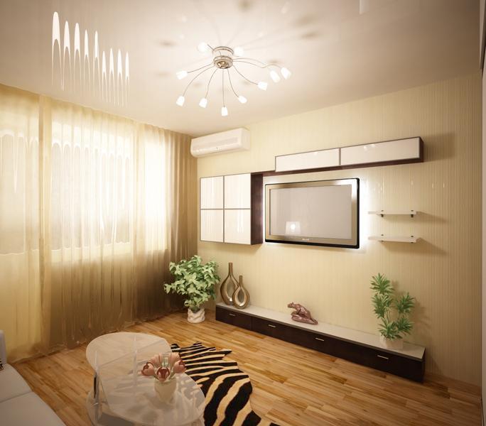 Интерьер двухкомнатной квартиры 43 кв.м фото