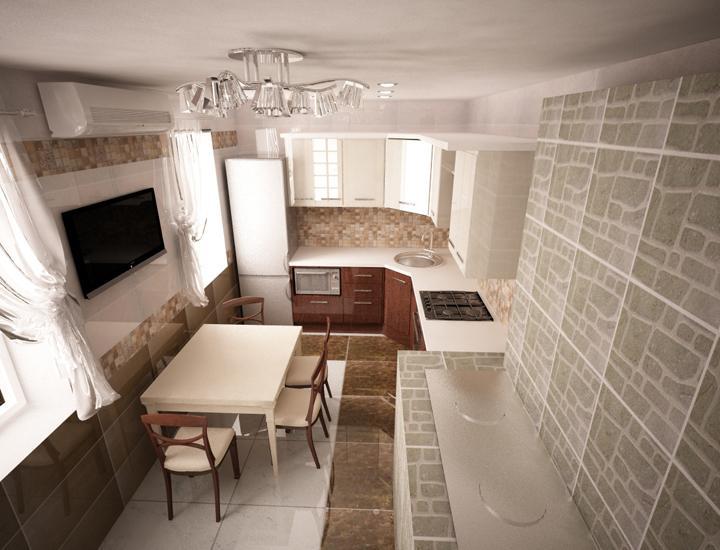 Маленькие угловые кухни с окном дизайн фото