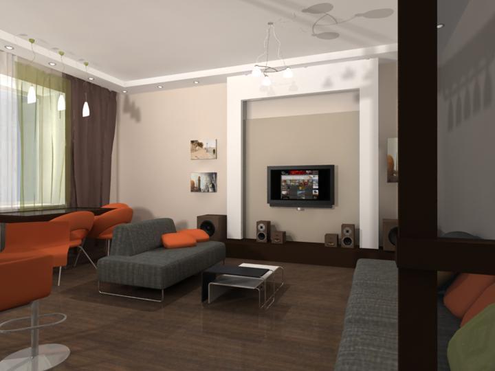 Дизайн проект 70 кв м
