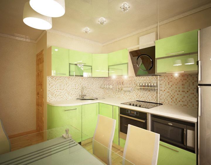 Дизайн кухни 5 на 7 фото