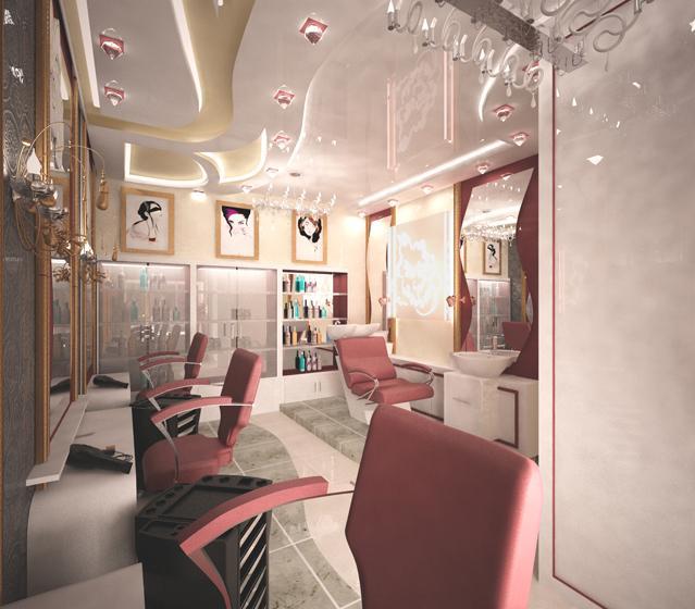 Дизайн проект салона. красоты
