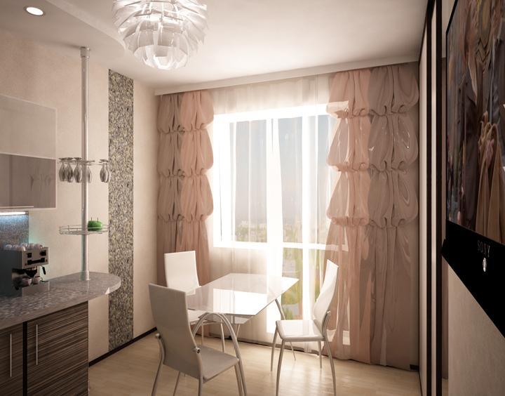 Однокомнатная квартира 40 кв.м дизайн